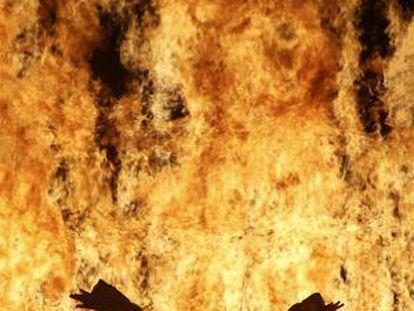 'Fire woman', 2005.