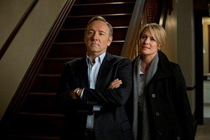 Kevin Spacey y Robin Wright, en una escena de la serie 'House of cards'.