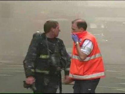 Un incendio destruye parte de la sede del Ayuntamiento de León