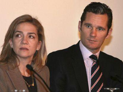 El duque de Palma, Iñaki Urdangarin, y su esposa, la infanta Cristina de Borbón, en 2007.