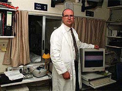 El doctor Joaquin Durán, director de la Unidad del Sueño del hospital de Txagorritxu.
