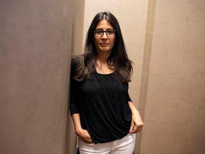 La experta en el cerebro Tara Thiagarajan posa en Nueva York el pasado 27 de julio.