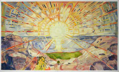 El Sol (1909), de Edvard Munch