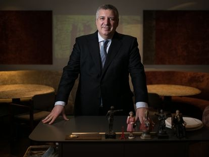 Alfred Romagosa, 'maitre' del restaurante Fermi Puig, en Barcelona.