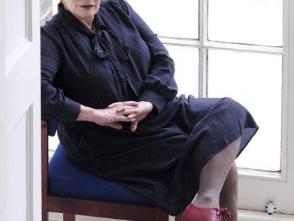 Deborah Levy el pasado lunes en Londres.