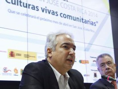 El ministro de Cultura de Costa Rica, Manuel Obregón.