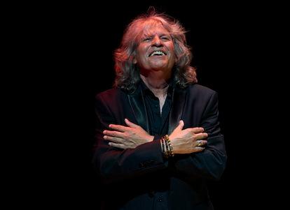 José Mercé, en una actuación en Valencia en junio pasado.