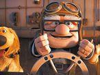 <b>Un anciano, un <i>boy scout</i> y un golden retriever son los personajes dispuestos a encandilar al mundo en <i>Up,</i> el último asalto de Pixar.</b>
