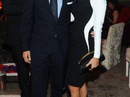 Eva Longoria y José Antonio Bastón, en un evento, el pasado 15 de noviembre.