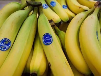 Plátanos de Chiquita en un mercado en Washington