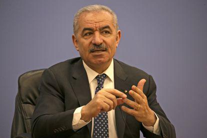 El primer ministro palestino, Mohammad Shtayyeh, el martes en Ramala.