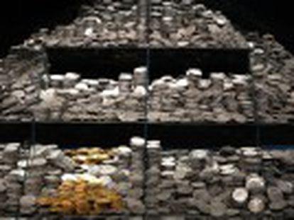 Una exposición recrea el contexto histórico del naufragio y el litigio contra la empresa Odyssey en los Museos Naval y Arqueológico