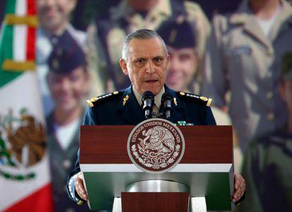 El exministro de Defensa mexicano Salvador Cienfuegos, en 2013.