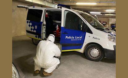 Policía Local de Salt AYUNTAMIENTO DE SALT 22/04/2020
