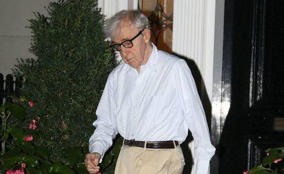 El actor y director Woody Allen en Nueva York, el pasado lunes.