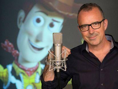 FOTO: Óscar Barberán, el doblador de Woody. / VÍDEO: Tráiler de 'Toy Story 4'.