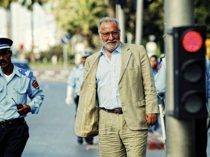 Pere Navarro, durante su estancia como consejero de Trabajo en Rabat.