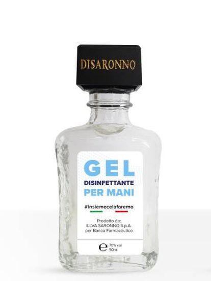 La multinacional llva Saronno, productora de licor, donó 100.000 botes de gel desinfectante al Banco Farmacéutico de Italia.