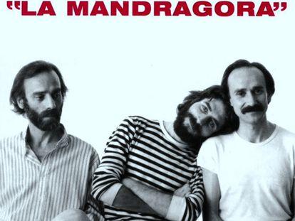 Detalle de la portada La Mandrágora (1981).
