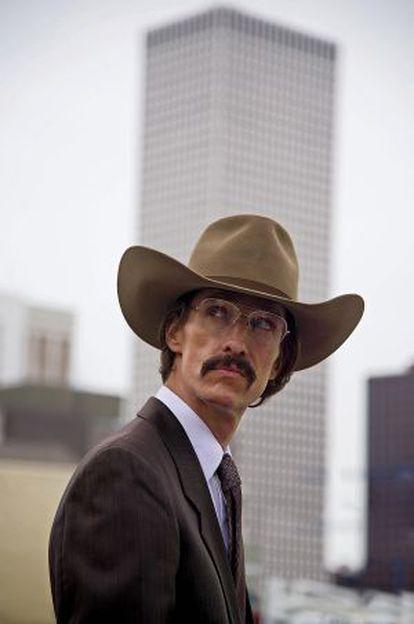 Matthew McConaughey, en una escena de 'Dallas Buyers Club', donde dio vida a Ron Woodroof.