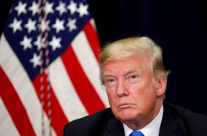 El presidente Donald Trump el pasado 25 de octubre.