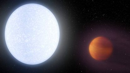 Reconstrucción de la estrella Kelt-9 y su planeta