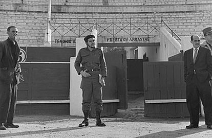 El Che, en la plaza de Vista Alegre.