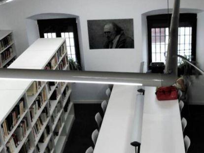Imagen de la Biblioteca Rafael Sánchez Ferlosio de Coria.