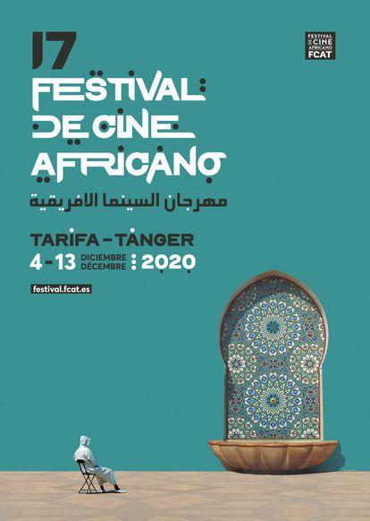 Cartel de la 17 edición del festival de Cine africano (FCAT) 2020.