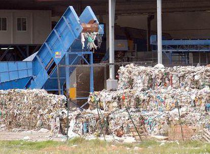La planta de tratamiento de residuos del área metropolitana de Valencia.