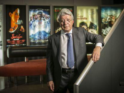 Enrique Cerezo, en sus oficinas de Ciudad de la Imagen (Madrid).
