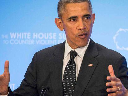 Obama en la Cumbre contra el Extremismo Violento.
