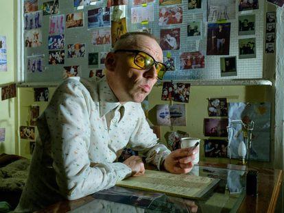 Ewen Bremner en su papel de Spud en 'T2: Trainspotting' (2017).