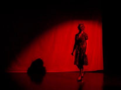 Un momento de 'Madrid, Chernóbil', de la compañía teatral The R. Mutt Society.