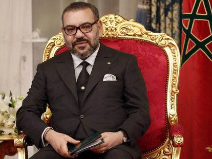 El rey de Marruecos, Mohamed VI, en Rabat.