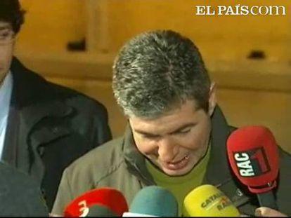 El ex alcalde de Santa Coloma de Gramenet ha agradecido las aportaciones económicas que le han permitido salir de prisión