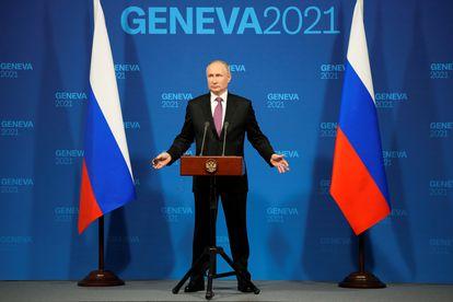 Putin ha dado una rueda de prensa de una hora tras la cumbre con Biden, este miércoles en Ginebra.