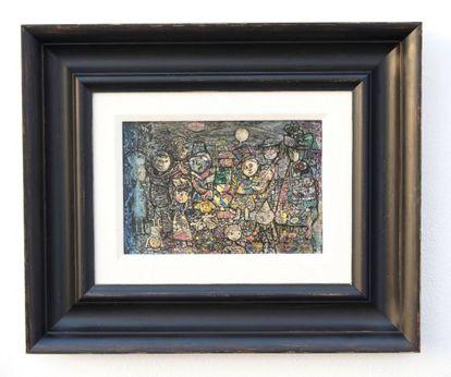 La pintura de Eduardo Abela 'Carnaval Infantil' será devuelta a Cuba.