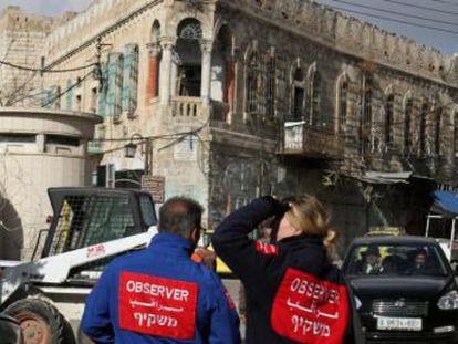 Netanyahu se niega a renovar la misión desplegada desde 1997 en la dividida ciudad palestina