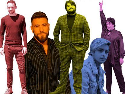 Bruno Sevilla, Raúl Tejón, Brays Efe, Omar Banana y Carlos González son algunos de los actores españoles que han hablado pública y libremente de su homosexualidad y que participan en este reportaje.