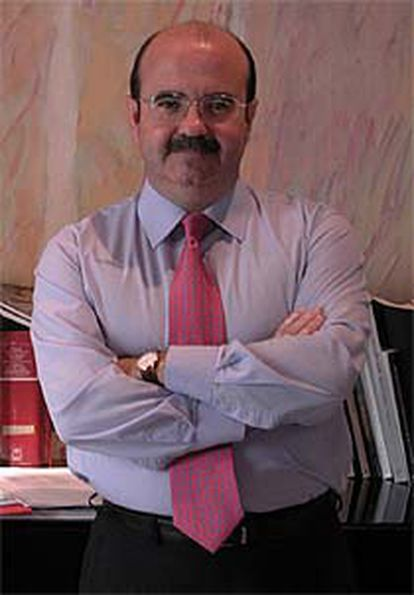 Gaspar Zarrías, en su despacho.