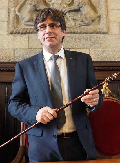 Carles Puigdemont, alcalde de Girona.