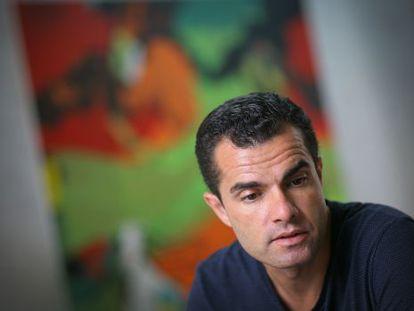 """""""La meua pintura naix dels estímuls quotidians"""", diu Juan Olivares."""