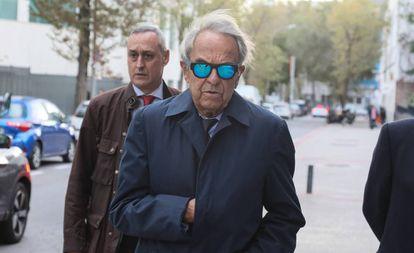 Jaime Botín a su llegada a los juzgados en noviembre de 2019.