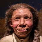 Exhibition on Neanderthals at the Moesgaard Museum in Denmark.  Moesgaard Museum / Neanderthal Exhibition 2020-21