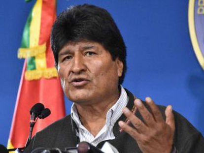 Un avión de las Fuerzas Armadas mexicanas traslada al líder boliviano al país norteamericano