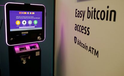 Un cajero de bitcoin ubicado en Zúrich