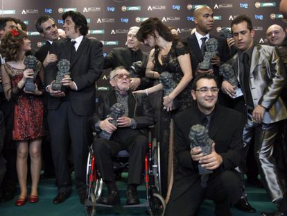 Gala de entrega de los Premios Goya 2009.