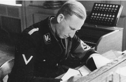 Heydrich, en Múnich en 1934.