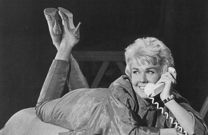 Doris Day en una imagen promocional durante su época dorada como actriz.